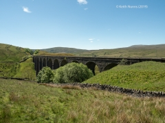 252150: Bridge SAC/84 - Artengill Viaduct (PROW - bridleway): Context view from the North East
