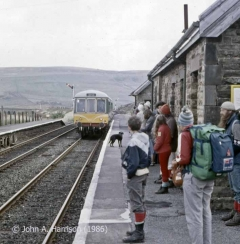 Garsdale Station 'Up' Waiting Room: Context view from the southwest.