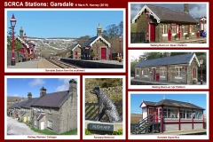 Photo-montage for Garsdale Station.