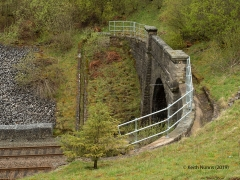 258470: Shotlock Tunnel South Portal (Bridge No 124): Elevation view from the East