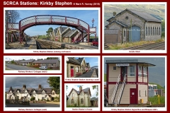 Photo-montage for Kirkby Stephen Station.