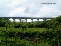 268670: Bridge SAC/193 - Smardale Viaduct (PROW - permissive footpath): Context view from the North East