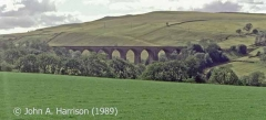 Smardale Viaduct (Bridge SAC/193): context view from the east.