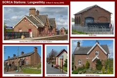 Photo-montage for Langwathby Station.