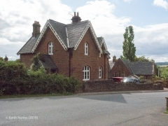 288320: Langwathby - Station Master's House (detached): Elevation view from the South East