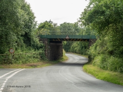 289600: Bridge SAC/297 - Winskill Road (PROW - minor road): Context view from the North East