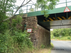 289600: Bridge SAC/297 - Winskill Road (PROW - minor road): Detail view from the South West