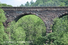 Bridge SAC/320 (Armathwaite Viaduct): arch, string course and parapet details (1)