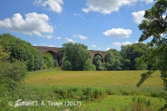 Bridge SAC/320 (Armathwaite Viaduct): west face, context view 2