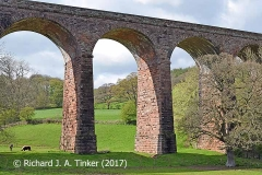Bridge SAC/326 (Dry Beck Viaduct): central arches from the southeast