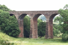 Dry Beck Viaduct: Elevation view from the southwest.