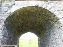 Bridge 173 - Croon Lorne: View under arch from east