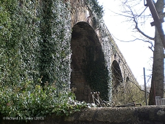 Church Viaduct - B6480: Elevation view from the south east