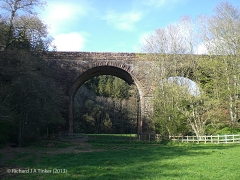 283800 Bridge 272 Crowdundle Viaduct: Elevation view from the south west