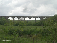 268670: Bridge SAC/193 - Smardale Viaduct: Context view from the north east