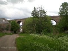 269460: Bridge SAC/197 Crosby Garrett Viaduct: Context view from the south west