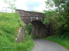 270340: Bridge SAC/207 - Gallansey Lane: Context view from the north west