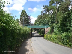 305370: Bridge SAC/350 - Station Road: Context view from the south