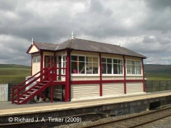 Garsdale Signal Box: South-east elevation