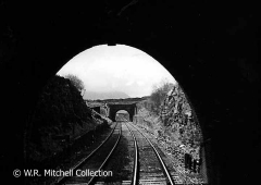 Looking south from the south portal of Blea Moor Tunnel