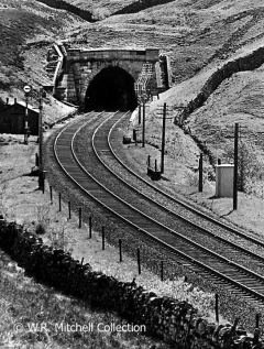 Blea Moor Tunnel North Portal and adjacent structures