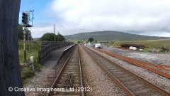 Ribblehead Station - Passenger Platform (Down - modern replacement)