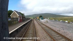 Ribblehead Station - Waiting Room (Down - modern replacement)