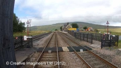 Ribblehead Station - Barrow Crossing  (passenger use only)