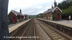 Garsdale Station - Southern building (Up - Island)