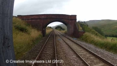 261090: Bridge SAC/141 - Mallerstang (occupation): Cab-view video still