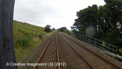 262810: Bridge SAC/156 - Ing Ends Farm (occupation): Cab-view video still