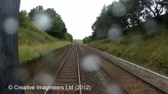265700: Bridge SAC/177 - Keel Well (CROW / occupation): Cab-view video still