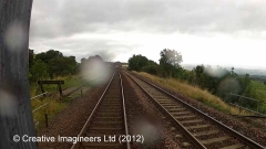 266440: Kirkby Stephen Station-Lie-by siding (Down): Cab-view video still