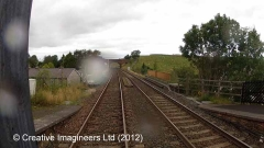 266615: Kirkby Stephen Station - Barrow Crossing (Abolished): Cab-view video