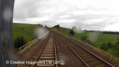 267540: Bridge SAC/186 - Waitby Road (PROW - minor road): Cab-view video still