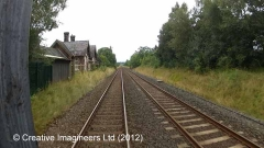 274800: Ormside Station - Main Building & Booking Office (Down): Cab-view video