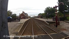 277230: Appleby Station-Water Column (Up side):Cab-view video still (northbound)