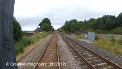 280120: Long Marton - Station Master's House (detached): Cab-view video still