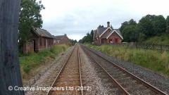 280200: Long Marton Station - Waiting Room (Down): Cab-view video still
