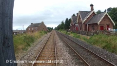 280210: Long Marton Station - Station Main Building & Booking Office (Up)