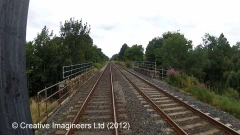 283300: Bridge SAC/270 - Kirkby Thore Road: Cab-view video still (northbound)
