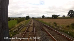 286560: Bridge SAC/279 - Watletts Brow (occupation): Cab-view video still