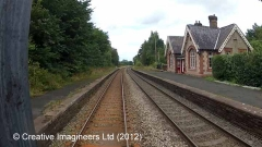 Little Salkeld Station - Main Building & Booking Office (Up)