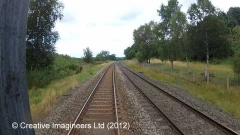 289770: Little Salkeld Station - Lie-by siding (Down):Cab-view video-still