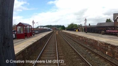 292565: Lazonby & Kirkoswald Station - Waiting Room: Cab-view video still