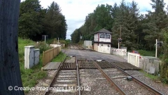 299680: Low House - Level Crossing: Cab-view video-still (northbound)