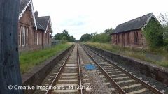 304150: Cumwhinton Station - Waiting Room (Up):Cab-view video-still (northbound)
