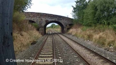 302040: Bridge SAC/338 - Duncowfold: Cab-view video-still (northbound)