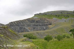 Dry Rigg Quarry, viewed from the east