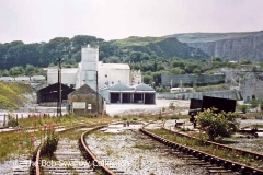 Horton Quarry / Delaneys Sidings and Horton Lime Works engine shed from the NE
